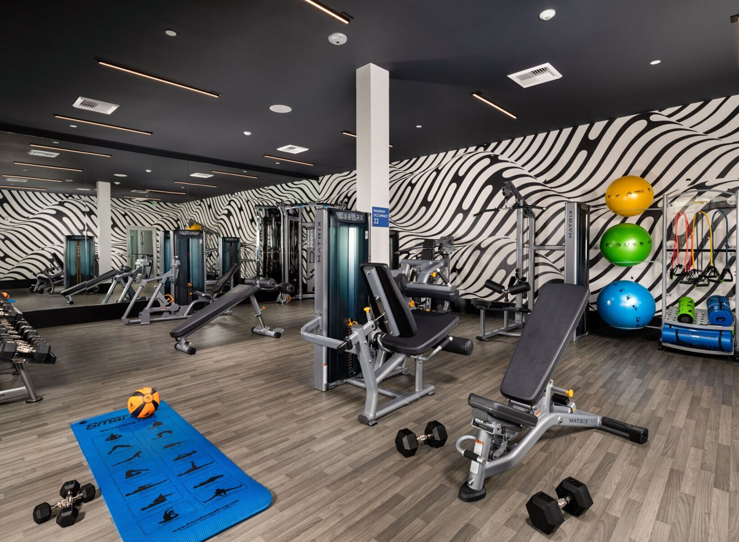 The Crest - Fitness center